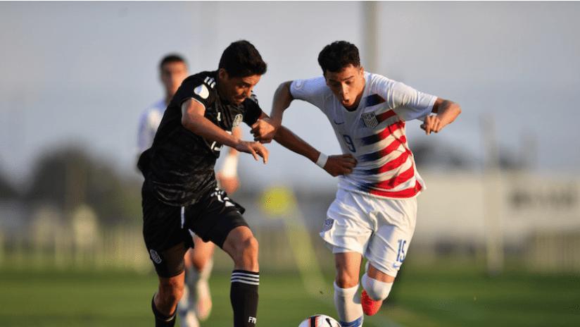 US, Mexico - Concacaf U-17 final