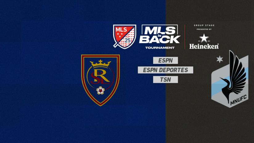 MLS is Back Tournament - Jul 17 - RSLvsMIN