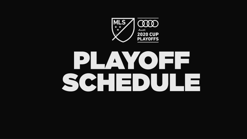 Playoffs - 2020 - generic - schedule announcement