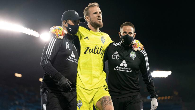 Sounders goalkeeper Stefan Frei gives positive injury update