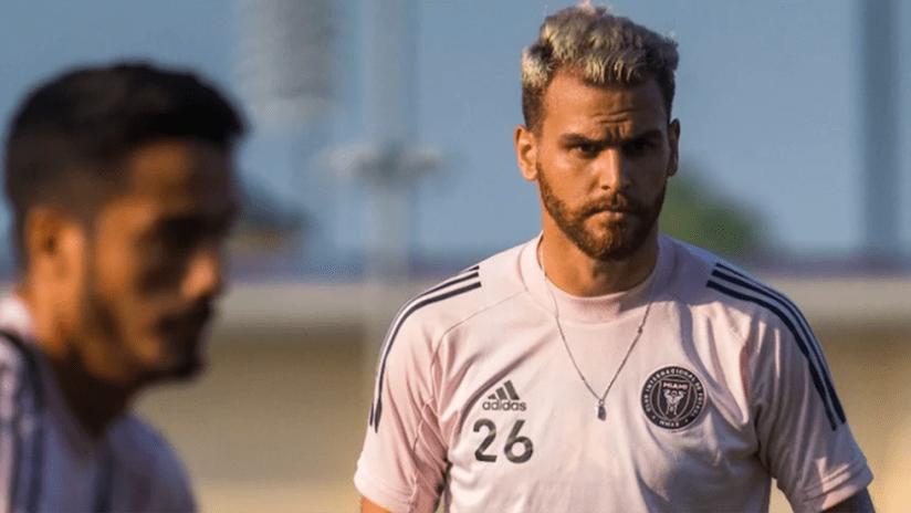Leandro Gonzalez Pirez - Inter Miami - training