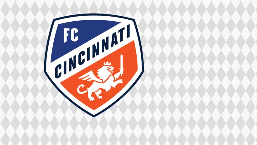 FC Cincinnati logo - diamond background