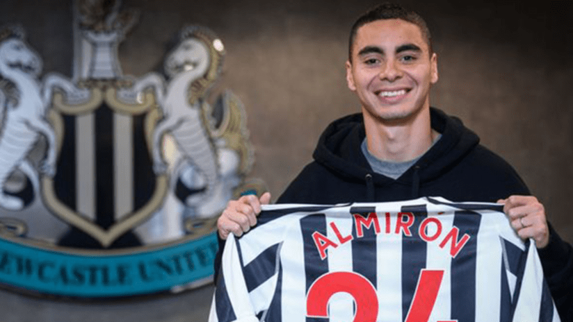 Miguel Almiron - Newcastle United - February 7, 2019