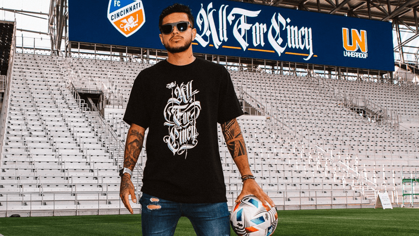 FC Cincinnati drop exclusive shirt and mural to mark TQL Stadium opening
