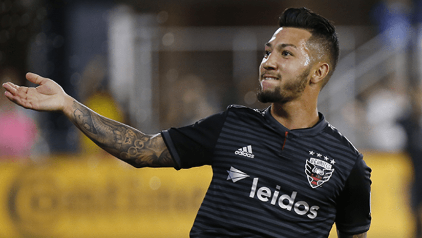 Luciano Acosta - DC United - August 19, 2018