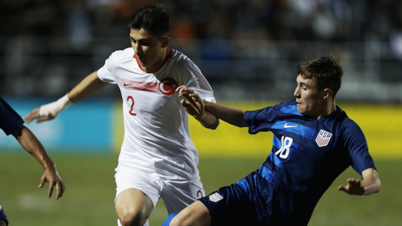 US U-17 national team - Turkey - 2018 International Friendlies