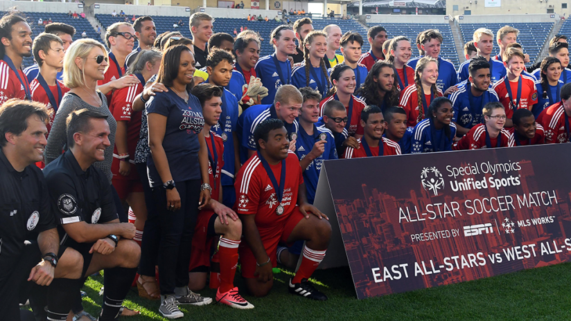 MLS WORKS - Special Olympics Unified - 2017 All-Star