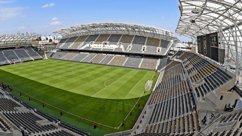 Banc of California Stadium - empty stadium wide shot