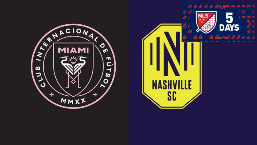 25 Day Countdown - 2020 - Day 5 - Nashville / Miami
