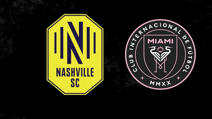 Nashville and Miami - logos