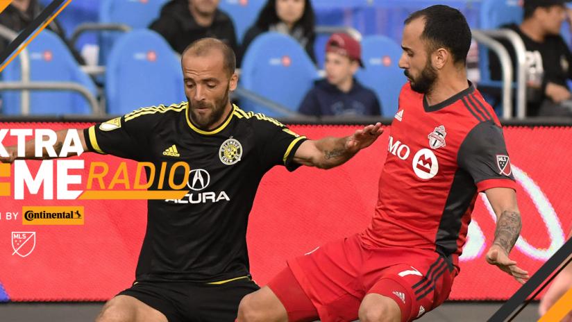 Victor Vazquez, Federico Higuain - Toronto FC, Columbus Crew SC - ExtraTime Radio