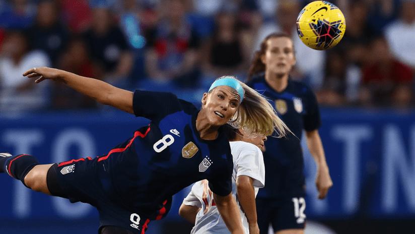 Julie Ertz - US women's national team (USWNT) - vs Japan