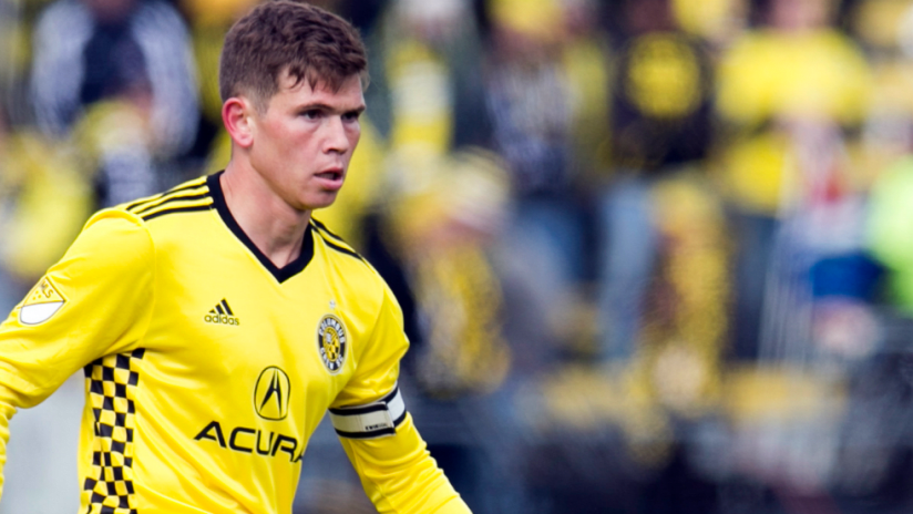 Wil Trapp - Columbus Crew SC - isolated - captain's armband