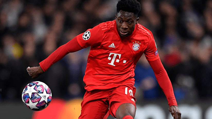 Alphonso Davies - Bayern Munich - February 25, 2020