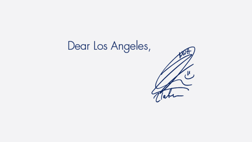 """LA Galaxy - """"You're welcome"""" ad - detail for primary image"""