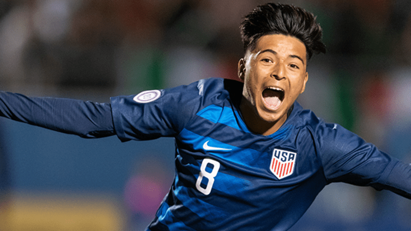 Alex Mendez - US Under-20s - November 21, 2018