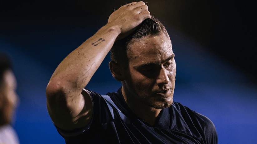 Jake Nerwinski - Vancouver Whitecaps FC - Pulling hair