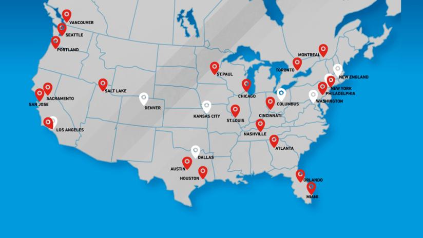 Sacramento - 2019 - map