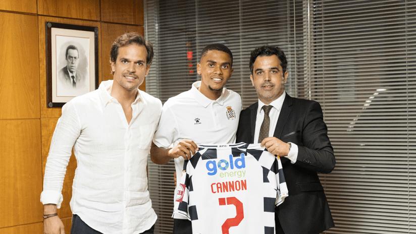 Reggie Cannon with Boavista, Admar Lopes