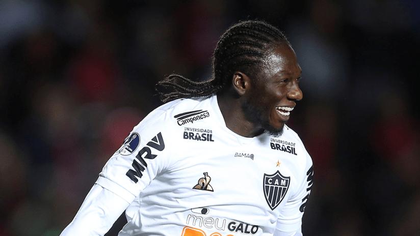 Yimmi Chara - Atletico Mineiro - closeup