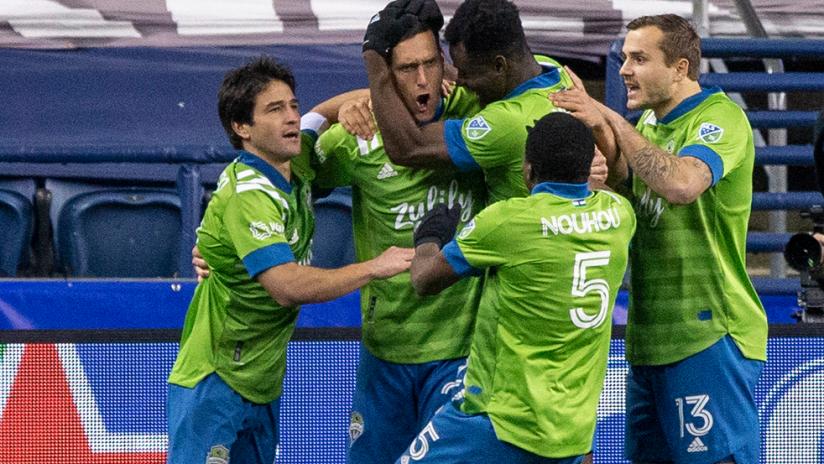 Playoffs - 2020 - Seattle celebrate