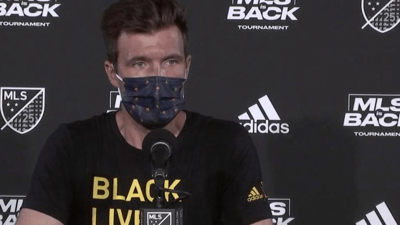 Raphael Wicky - July 2020 - masked presser