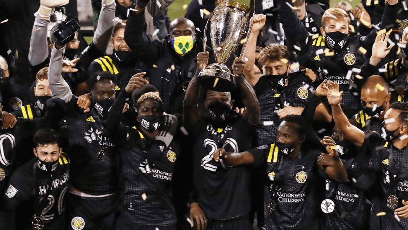 MLS Cup - 2020 - CLB vs SEA match up image