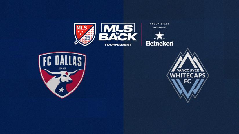 MLS is Back Tournament - DALvsVAN - generic