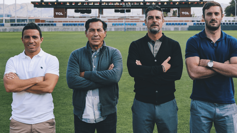 San Jose Earthquakes - new assistants - THUMB ONLY