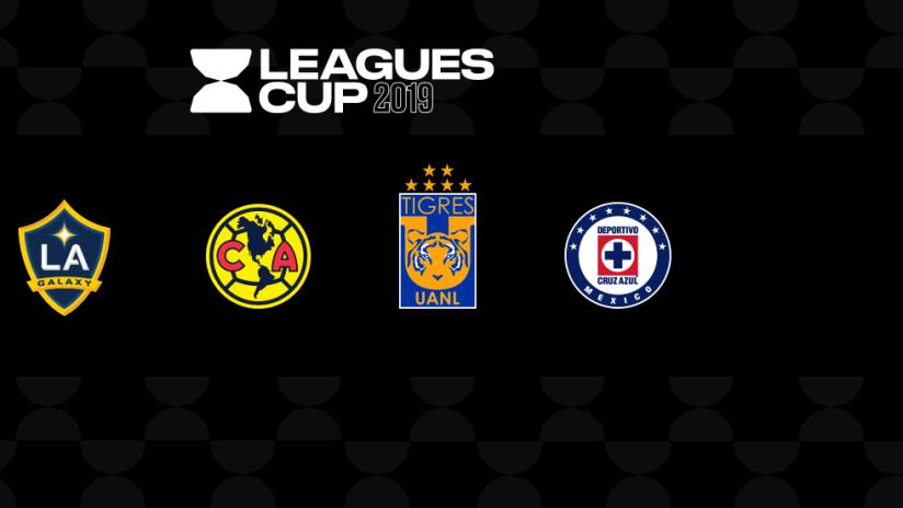 Leagues Cup - 2019 - semifinal teams