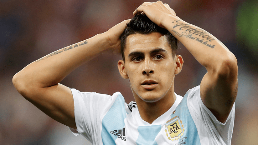 Cristian Pavon - Argentina - during 2018 World Cup
