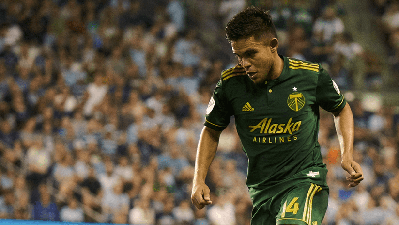 Andres Flores - Portland Timbers - Close up