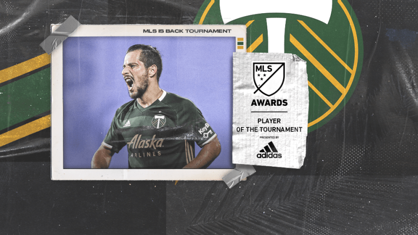 MLS is Back Tournament - awards - Player of Tournament