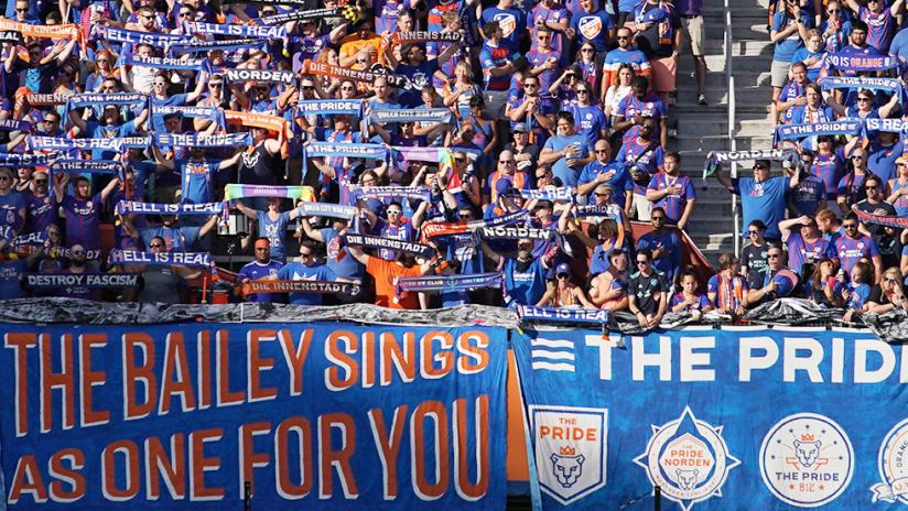 FC Cincinnati - 2019 - Bailey sings for you