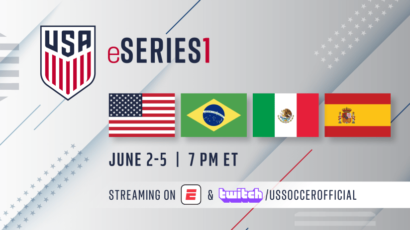 US Soccer eSeries One graphic