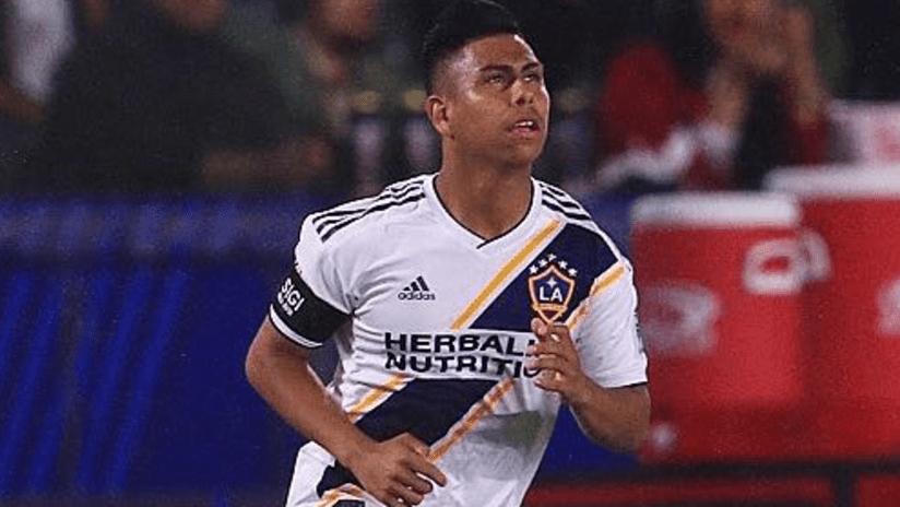 Efrain Alvarez - enters field for LA Galaxy - March 2, 2019