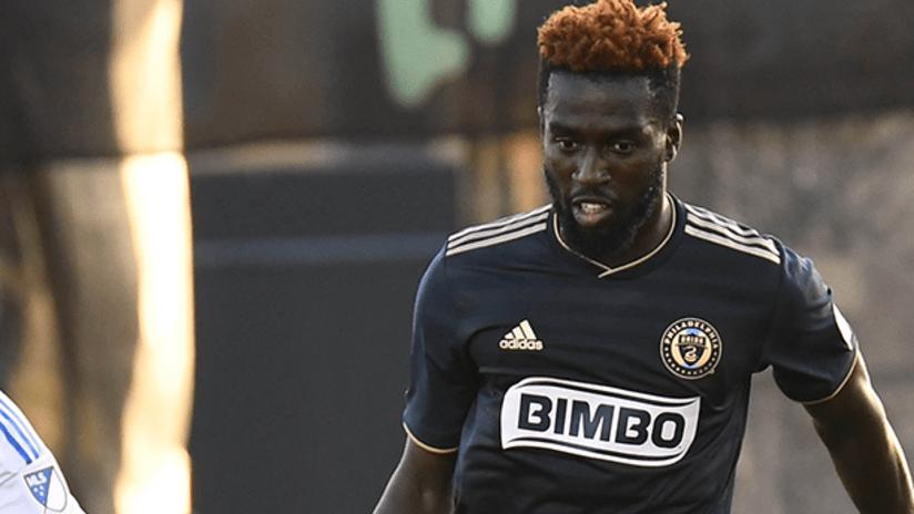 Derrick Jones - Philadelphia Union - February 16, 2019