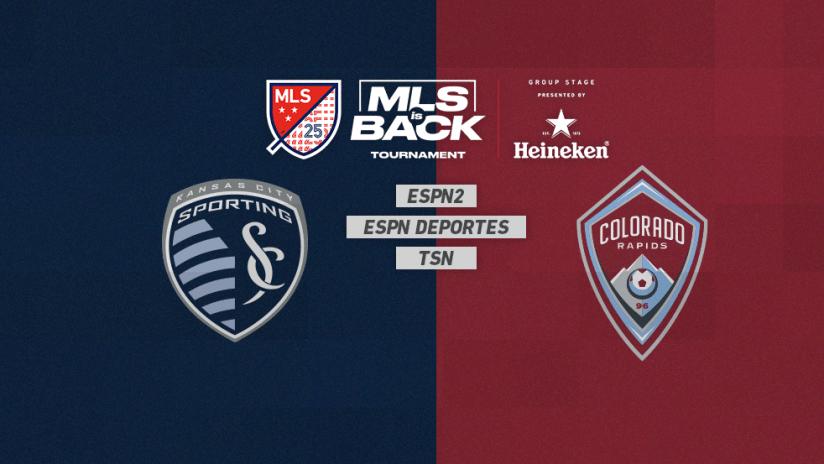MLS is Back Tournament - Jul 17 - SKCvsCOL