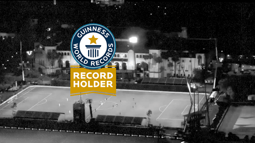 Guinness World Records - MLS is Back Tournament - primary image