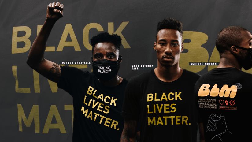MLS is BLACK - Solidarity Top - primary image