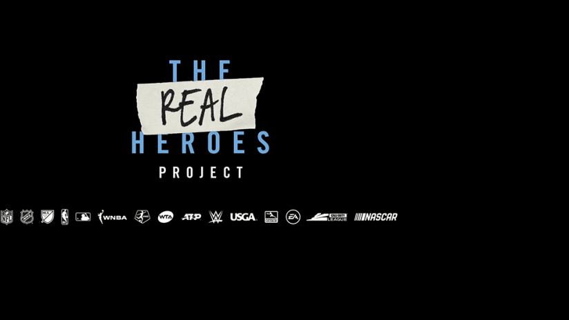 The Real Heroes Project - primary image - main logo