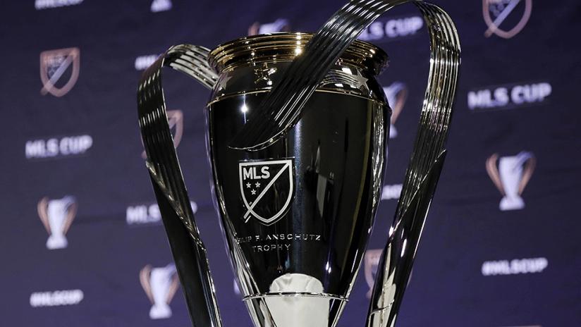 MLS Cup trophy