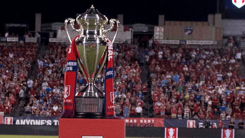 US Open Cup trophy