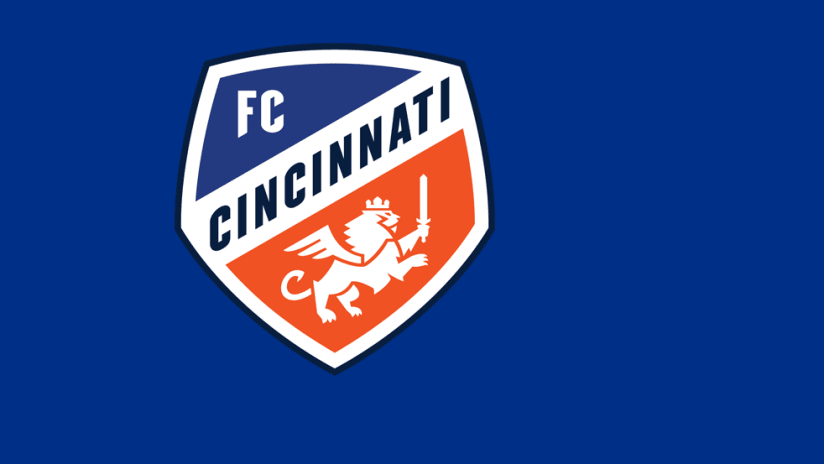 FC Cincinnati logo - blue background
