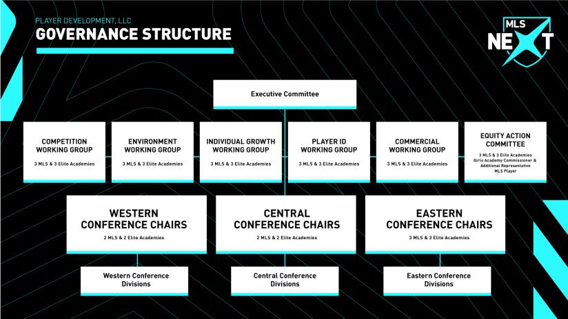 MLS NEXT Governance Structure
