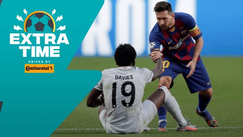Extratime: Alphonso Davies - Lionel Messi