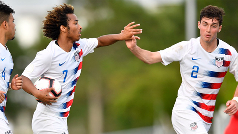 Gianluca Busio - US Under-17 national team - May 2, 2019