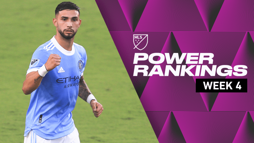 Power Rankings: NYCFC, Red Bulls surpassing expectations after Week 4