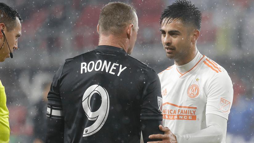Wayne Rooney, Pity Martinez - DC United vs. Atlanta United - dap