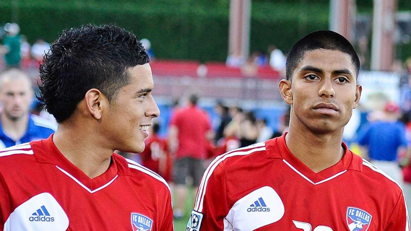 Victor Ulloa and Moises Hernandez - 2012 - two shot